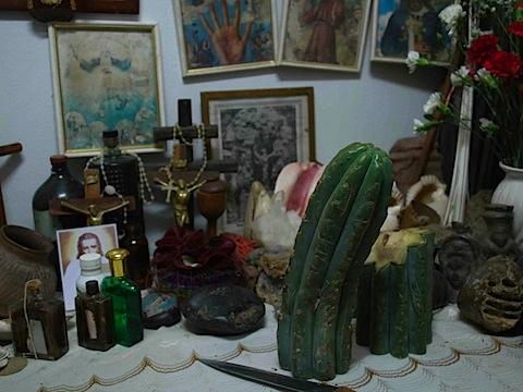 Ysabel and Olinda's mesa with Huachuma.jpg